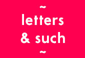 letters & such